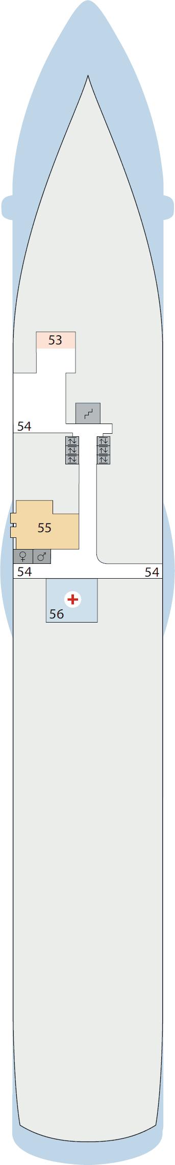 AIDAluna - Deck 3
