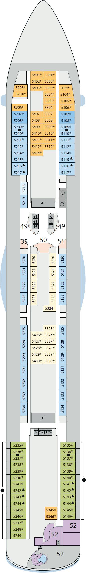 AIDAluna - Deck 5