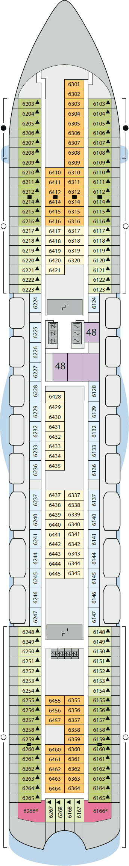 AIDAbella - Deck 6