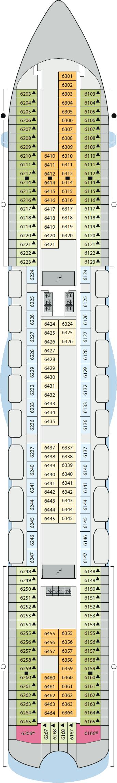 AIDAluna - Deck 6
