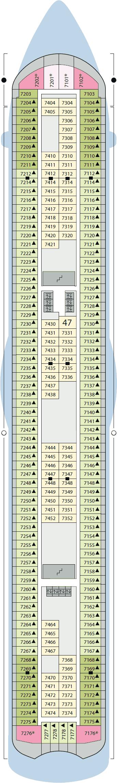AIDAluna - Deck 7