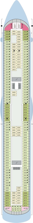 AIDAluna - Deck 8