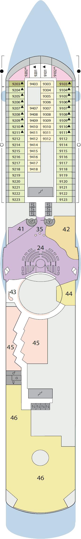 AIDAluna - Deck 9