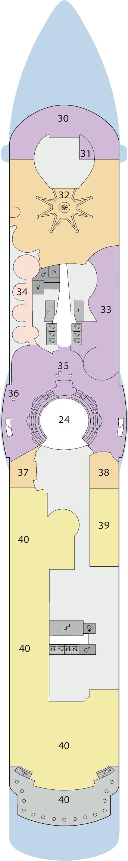 AIDAluna - Deck 10