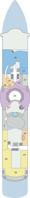 AIDAdiva - Deck 11