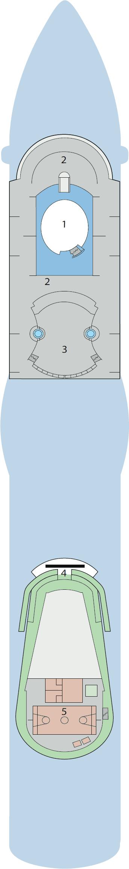 AIDAluna - Deck 14