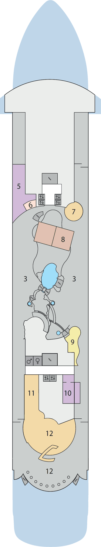 AIDAaura - Deck 10