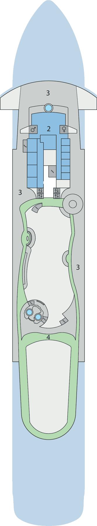 AIDAaura - Deck 11