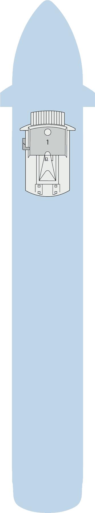 AIDAaura - Deck 12