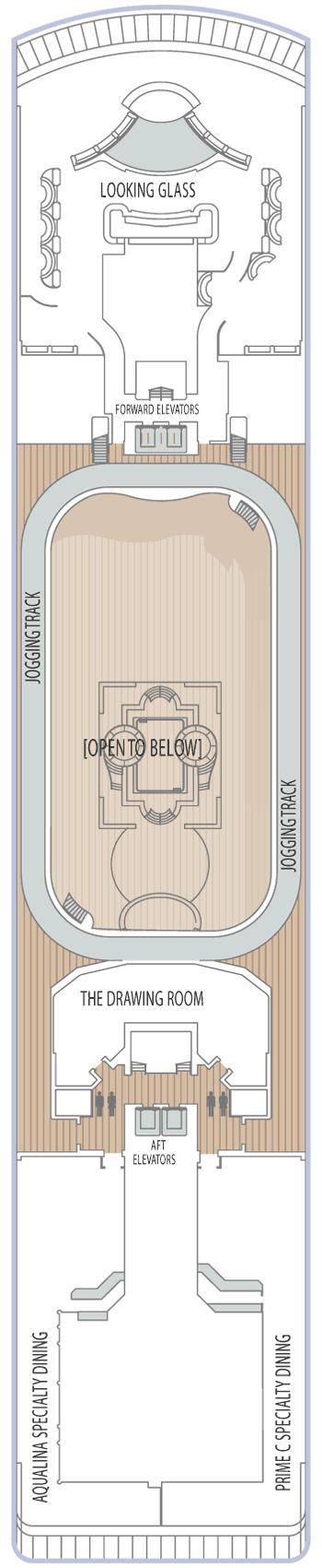 Azamara Journey - Deck 10