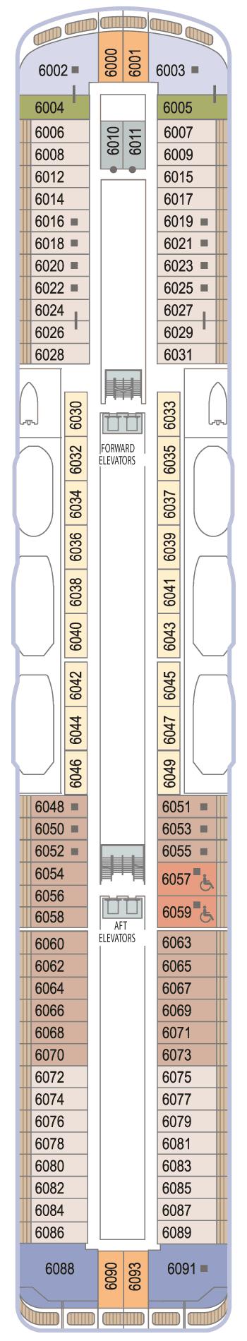 Azamara Journey - Deck 6
