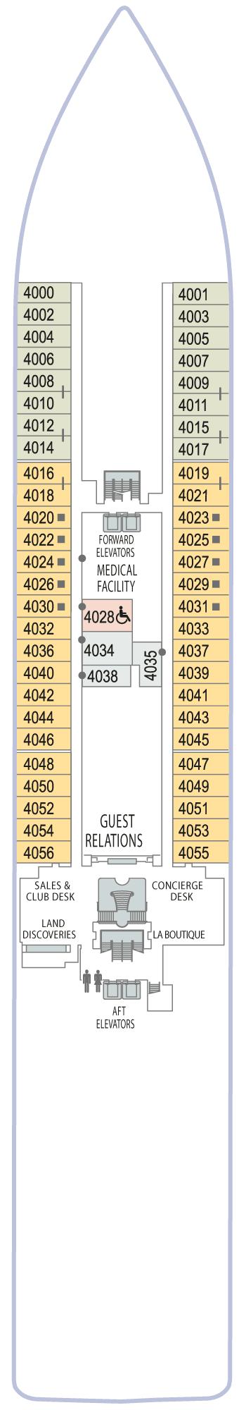 Azamara Quest - Deck 4