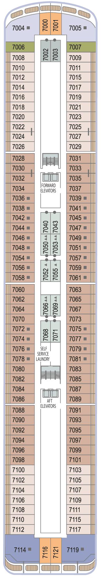 Azamara Quest - Deck 7