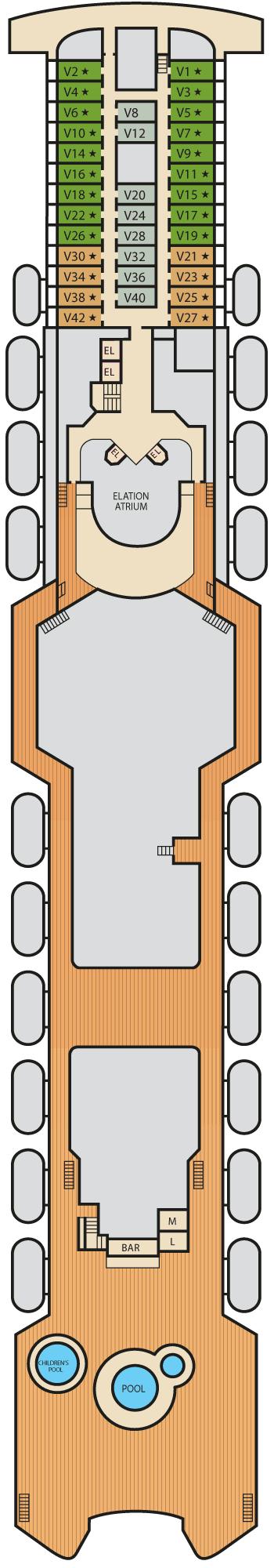 Carnival Elation - Verandah Deck