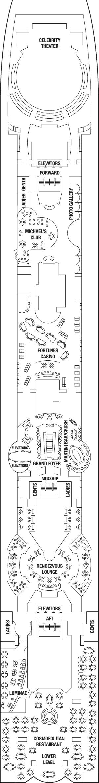 Celebrity Summit - Promenade