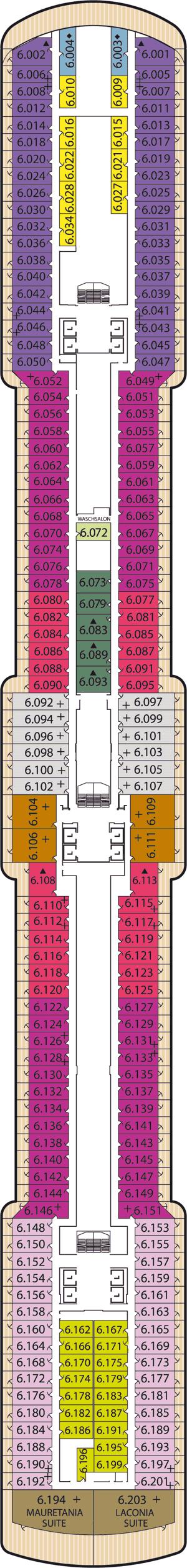 Queen Victoria - Deck 6