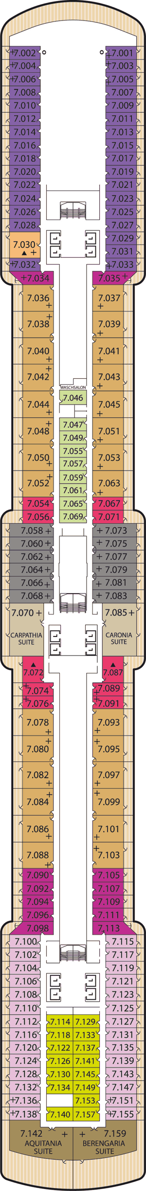 Queen Victoria - Deck 7