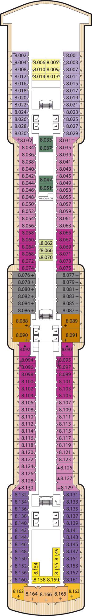 Queen Victoria - Deck 8