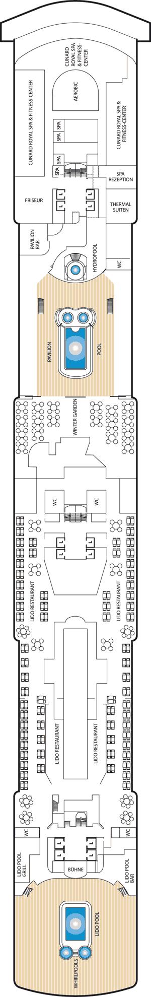 Queen Victoria - Deck 9