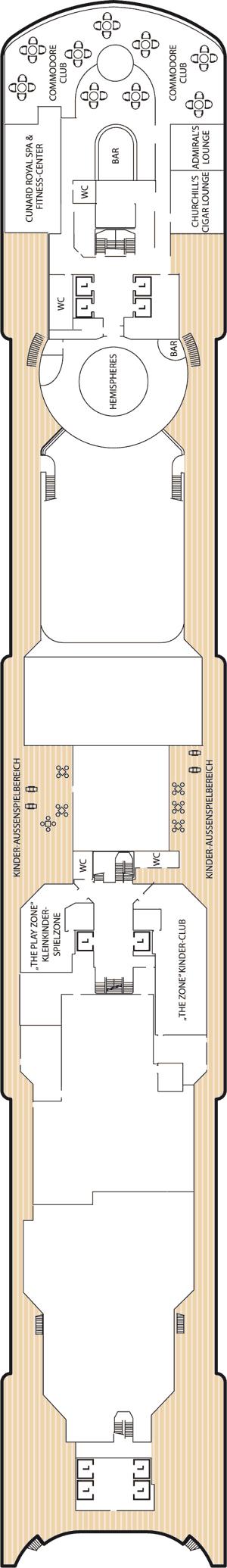 Queen Victoria - Deck 10