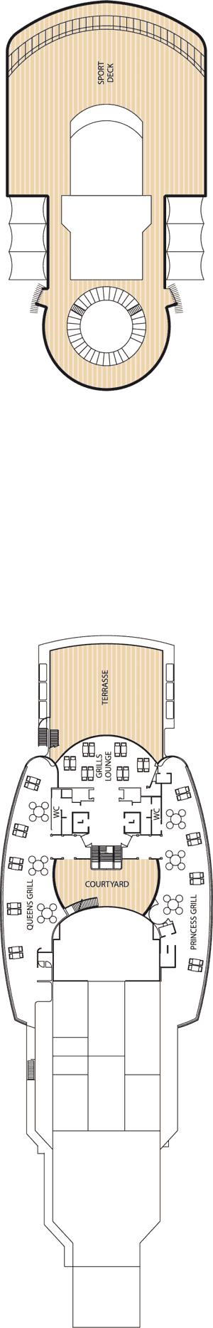 Queen Victoria - Deck 11