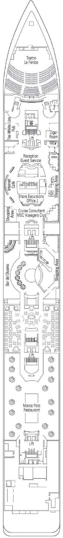 MSC Armonia - Rubino Deck