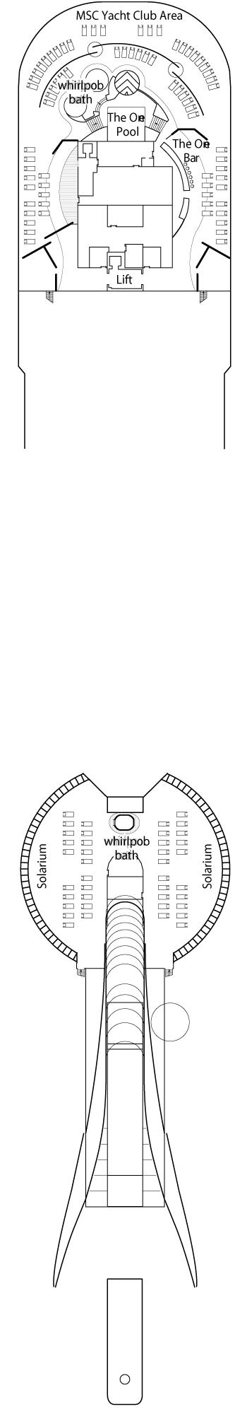 MSC Fantasia - Sun Deck
