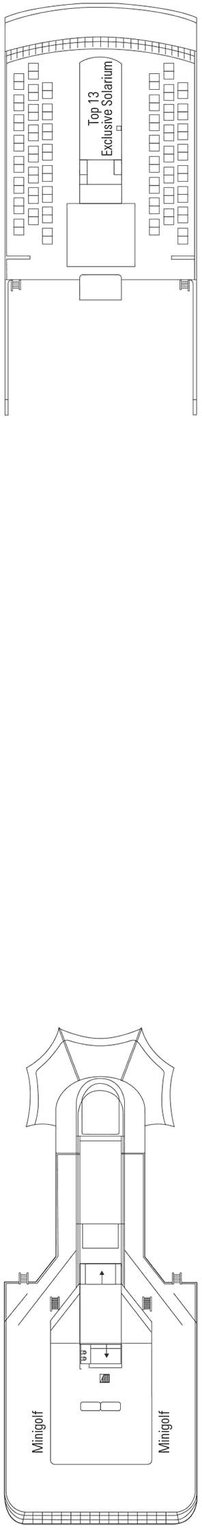 MSC Opera - Sun Deck / Minigolf