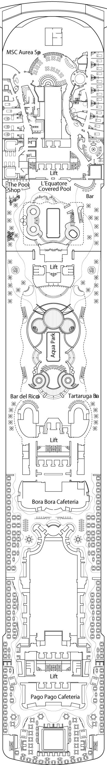 MSC Splendida - Raffaello