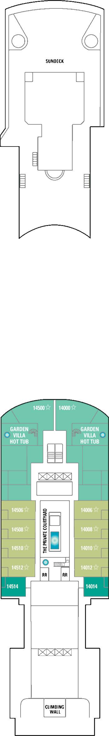 Norwegian Gem - Deck 14