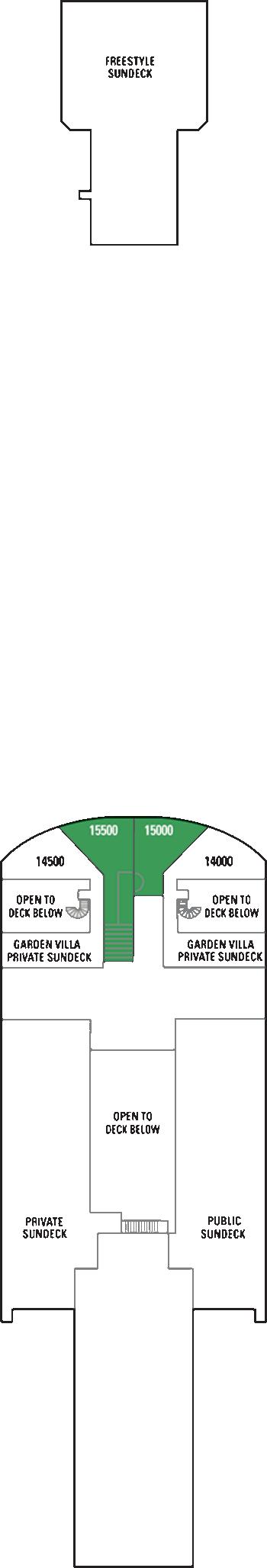 Norwegian Gem - Deck 15