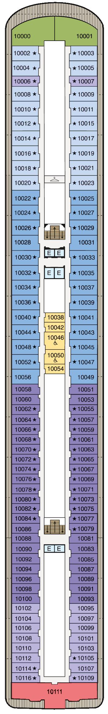 MS Marina - Deck 10