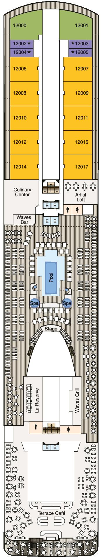 MS Marina - Deck 12
