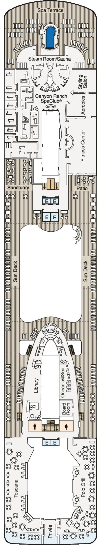 MS Marina - Deck 14
