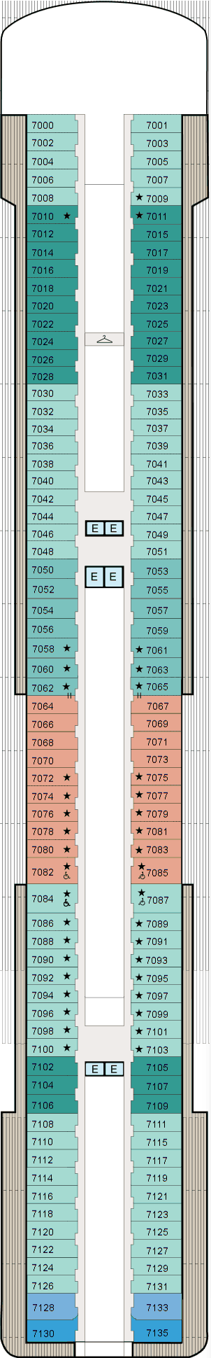MS Marina - Deck 7