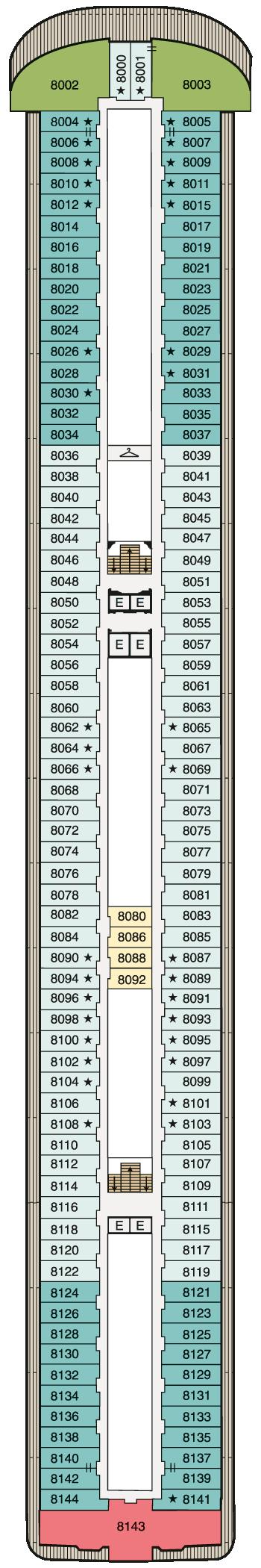 MS Marina - Deck 8