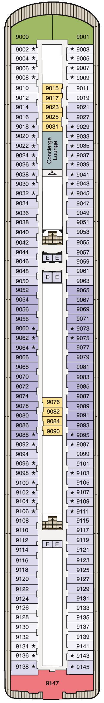 MS Marina - Deck 9
