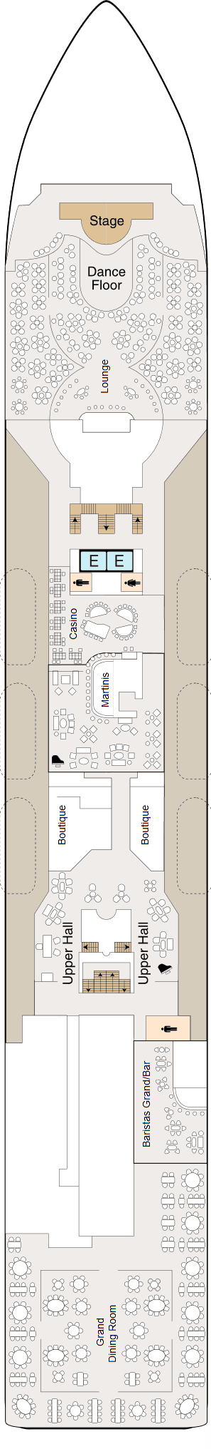 MS Regatta - Deck 5