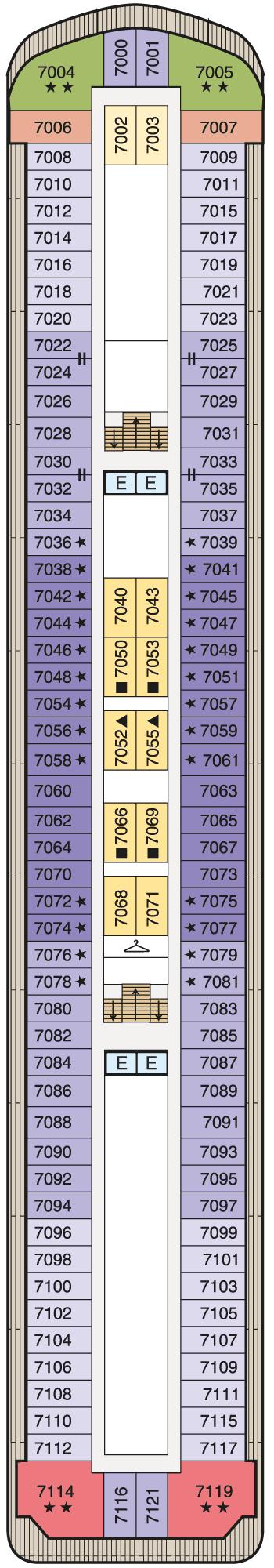 MS Regatta - Deck 7
