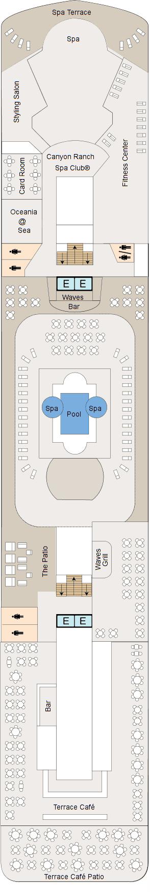 MS Regatta - Deck 9