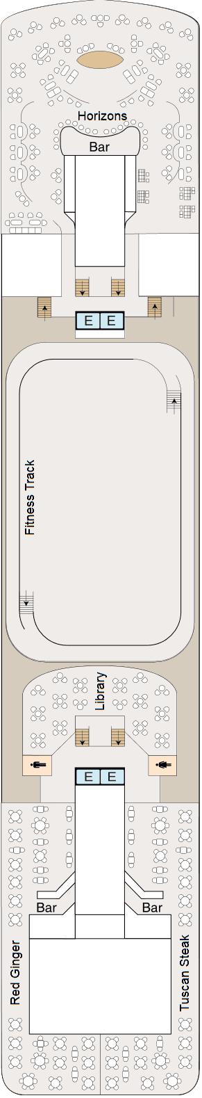 MS Sirena - Deck 10