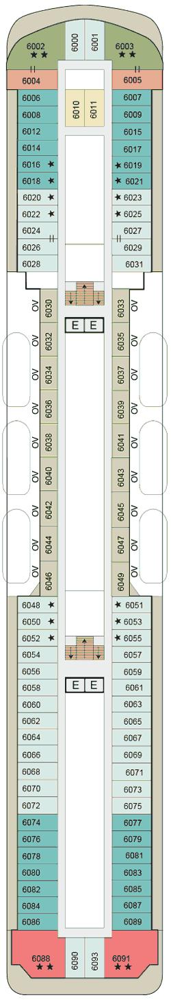MS Sirena - Deck 6