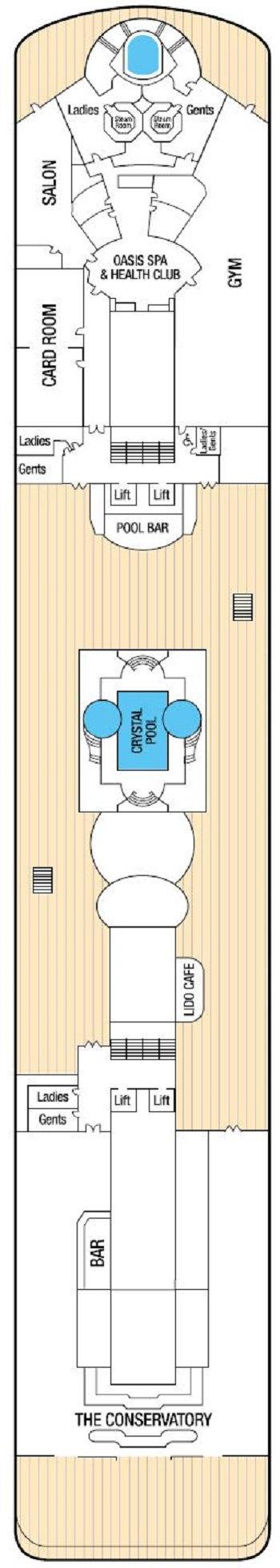 Adonia - LIDO Deck
