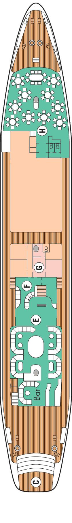 Le Ponant - Deck Saint-Barth