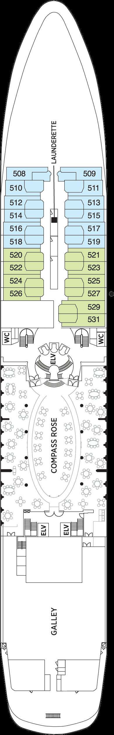 Seven Seas Navigator - Deck 5
