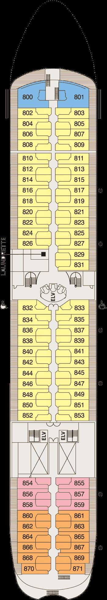 Seven Seas Navigator - Deck 8