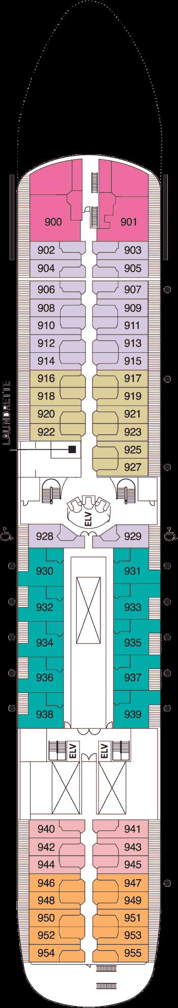 Seven Seas Navigator - Deck 9
