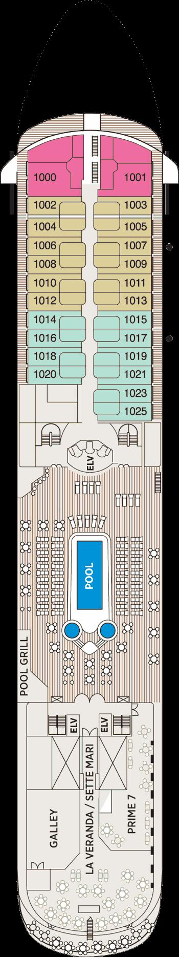Seven Seas Navigator - Deck 10