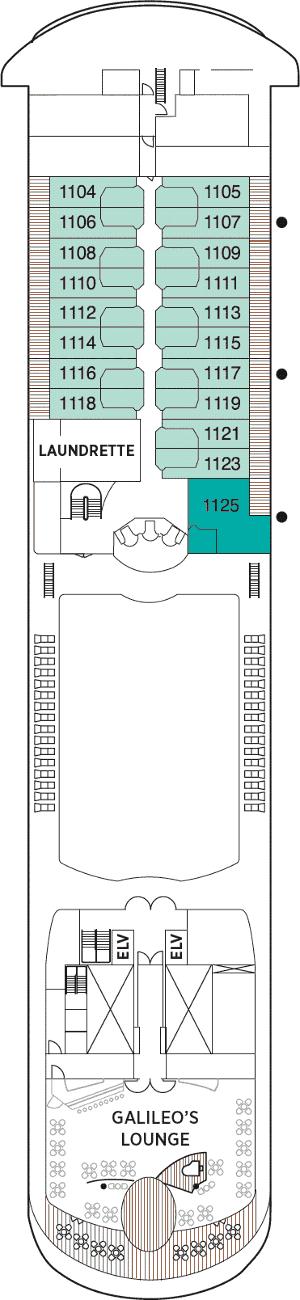 Seven Seas Navigator - Deck 11
