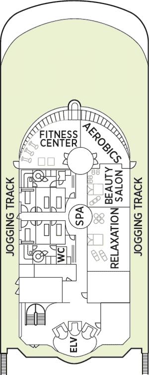 Seven Seas Navigator - Deck 12